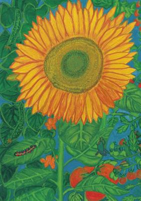 「第11回ふくおか花とみどりの子ども絵画コンクール」を開催しました。