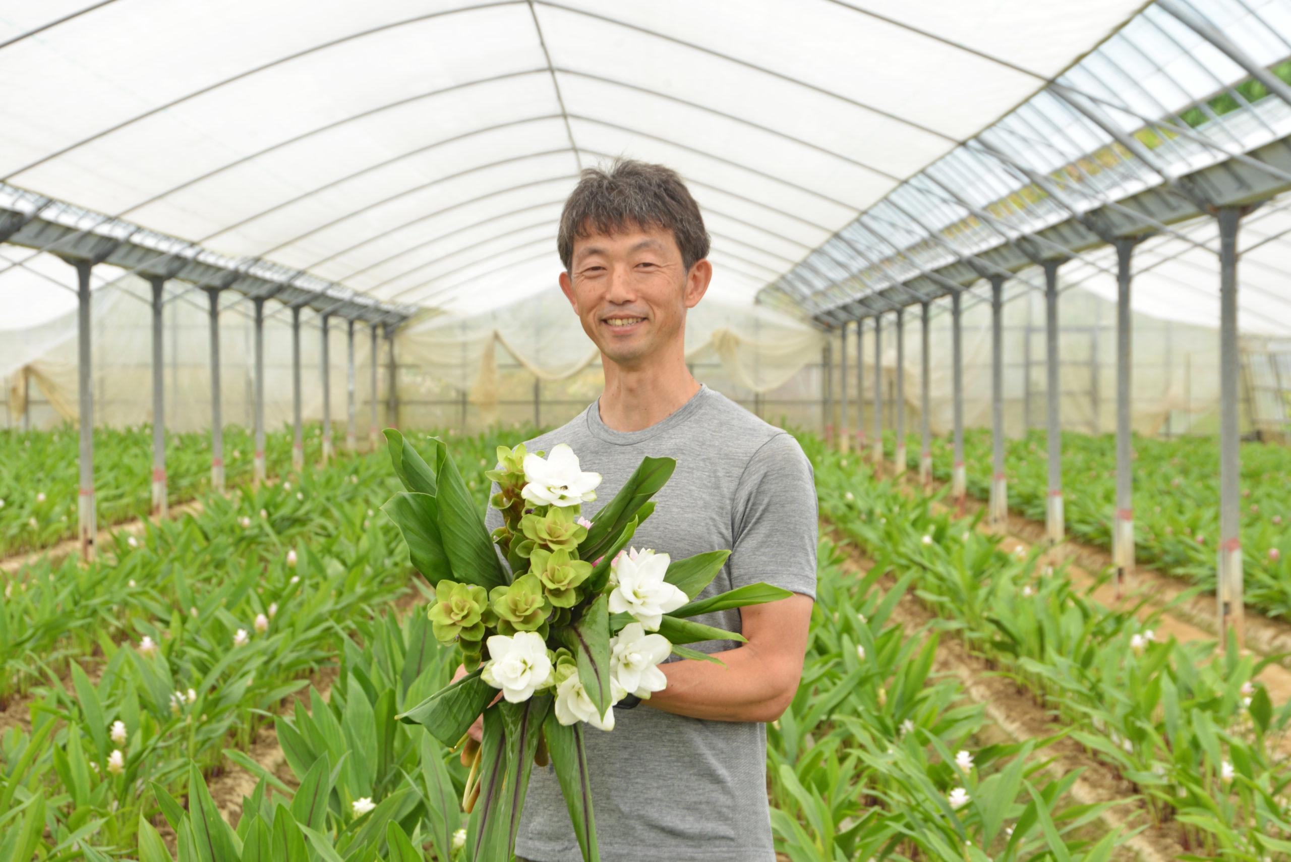 JA糸島クルクマ部会長 一ノ宮浩さん